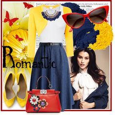 How To Wear Romantic.... Outfit Idea 2017 - Fashion Trends Ready To Wear For Plus Size, Curvy Women Over 20, 30, 40, 50