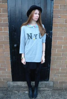 N.Y.C   #fashion #style #outfit  #look, Asos in T Shirts