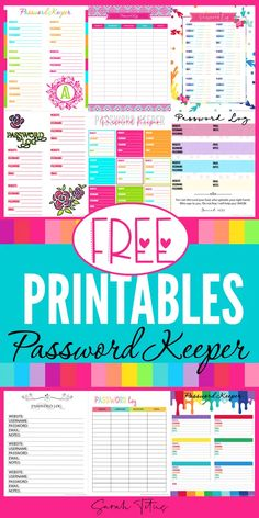 Top Password Keeper Free Printables to Download Instantly