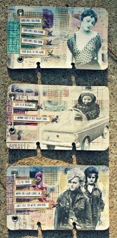 Rolodex Art Journal: Life Is A Highway Series