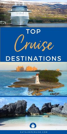 Top Cruise Destinations - The cruise region is an important factor to consider when booking a cruise. Our Top Cruise Destinations will help give you some inspiration. #cruise #cruisetravel #cruisetips #traveldestinations #eatsleepcruise
