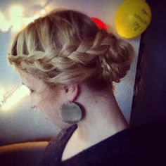 Just a dutch-frenchtail braid - never boring!