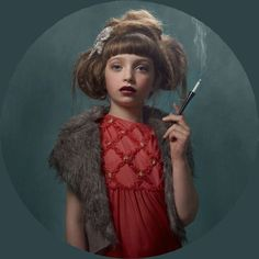 13+Frieke+Janssens+-+smoking+kids.jpg (660×660)