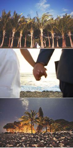 Maui Wedding by Aaron Snow + Carl Zoch | Style Me Pretty