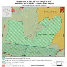 No início do mês de março, a Reserva Extrativista (Resex) do Rio Gregório, no Amazonas, teve seus limites alterados: a área foi ampliada em mais de 118 mil hectares e conta agora com um total de 427 mil hectares. A Resex foi criada pelo governo do estado em 2007, nos municípios de Ipixuna e Eirunepé, no oeste do Amazonas, divisa com o Acre, na bacia hidrográfica do Rio Juruá.