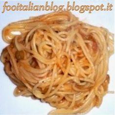 Food Italian Blog: Pasta ai Ricci con Carciofi