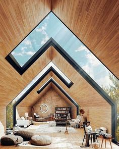 Homes Ideas Architectural glass apex roof.Architecture Homes Ideas Architectural glass apex roof. Architecture Design, Plans Architecture, Architecture Portfolio Layout, Creative Architecture, Light Architecture, Sustainable Architecture, Amazing Architecture, Home Interior Design, Exterior Design