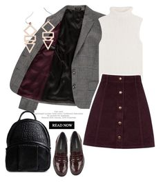 """""""Blazer and skirt"""" by gul07 ❤ liked on Polyvore featuring Paul Smith, Theory, Oasis, Gemma Redux, Pussycat, Alexander Wang, women's clothing, women's fashion, women and female"""