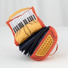 Plush Jamboree Accordion  #FeatherYourNest