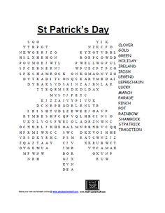 St Patrick's Day gam