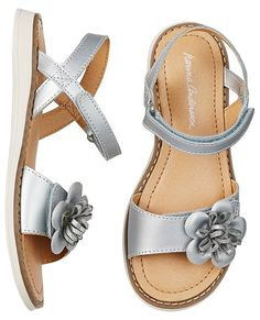 Justina Flower Sandals By Hanna from #HannaAndersson.
