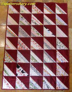 Roman Stripes String Quilt