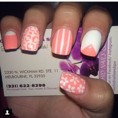 Orchid nail salon and spa nails