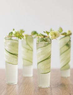 Welcome Spring with a Cucumber + Kiwi Gimlet Recipe is an easy and delicious coc. - - Welcome Spring with a Cucumber + Kiwi Gimlet Recipe is an easy and delicious cocktail to make this spring! Using gin, cucumber and kiwi simple syrup. Summer Cocktails, Cocktail Drinks, Cocktail Recipes, Alcoholic Drinks, Beverages, Cocktail Book, Cocktail Ideas, Refreshing Cocktails, Gimlet Recipe