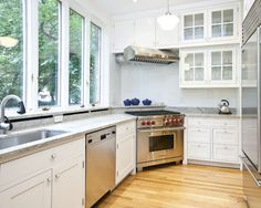 Corner Stove Design, Pictures, Remodel, Decor and Ideas - page 2