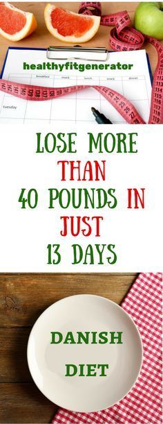 Lose more than 40 pounds in just 13 days.