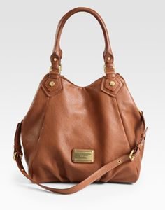 Classic Q Fran Tote Bag in cinnamon stick! Find it on eBay!