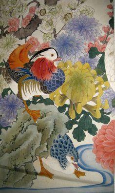 Japanese Bird-and-Flower Paintings by Itō Jakuchū http://www.pinterest.com/search/pins/?q=Jakuchu