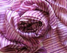 Silk shawl-Handwoven-Hand dyed-Batik-Raw silk-Wedding accessories-Pure silk-Thai silk-Handmade-Natural silk-Gift for her-Silk accessories by PlanetEarthHandmade on Etsy Handmade Wedding Gifts, Gift Wedding, Purple Scarves, Silk Scarves, Easter Colors, Silk Shawl, Lightweight Scarf, Wedding Accessories, Fashion Accessories