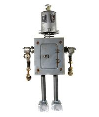 "Roboter ""Hopkins"" bei nerdbots / Robot ""Hopkins"" at nerdbots"