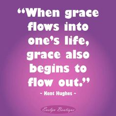 """""""Grace is not just for salvation. It is an overflowing fountain that brings richness to all of life.""""* Grace shows us our sin and turns our hearts in repentance to faith in Christ alone. Then grace continues to change us. It affects what we like and what we dislike, it affects our obedience to God, and it affects our relationships and how we treat others. It flows out of us as we continually grow and bear fruit...and it never runs out! #biblicalwomanhoodwotw #gracegreaterthanmysin"""