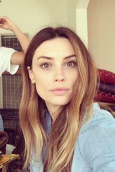 Arielle Vandenberg hair