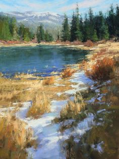 """Variation on a Theme,"" by Kim Lordier, pastel, 24 x 18 in."