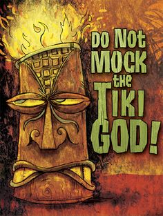Tiki Drawings Illustration | And here are the prototypes (each piece is roughly 6 inches tall and 3 ...