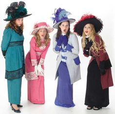 Pick-A-Little Ladies Eulalie Shinn Costumes - Music Man Rental from $39-53 per costume
