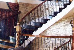 Lovely interior railing!