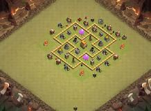 Top 1000 Town hall 6 Clash of Clans Bases. Launch an attack in the simulator or modify with the base builder. Th 5, Clash Of Clans Hack, Funny Moments, Triangle, Product Launch, Layout, Base, In This Moment, Page Layout