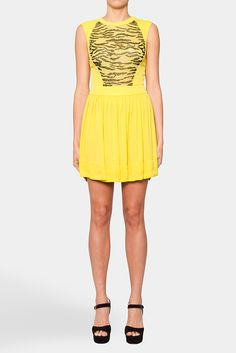 Latest dreamy yellow dress I'd like to have... This one's by Manning Cartell