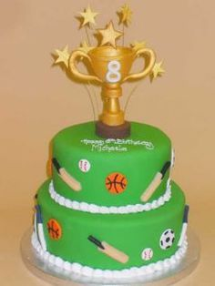 trophy cake ideas - Google Search