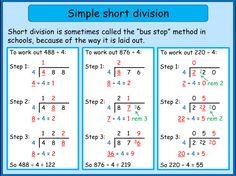 Pin On Paulspininterest Bus stop method long division worksheet