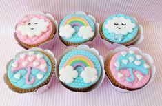 Birthday Parties, Birthday Cake, Pastel Sky, Kawaii Room, Baby Unicorn, Rain Clouds, Biscotti, Cake Decorating, Baby Shower