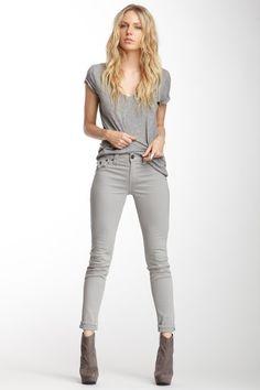 Serena Mid Rise Skinny Jean