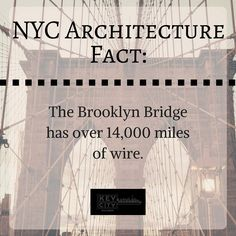 It took over two years just to complete the wire construction!  #brooklyn #brooklynbridge #nyc #nycarchitecture #nycskyline