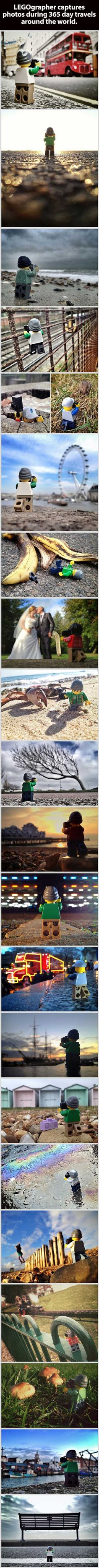 Tiny LEGOgrapher travels the world in 365 day project by Andrew Whyte
