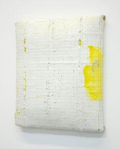 Burlap Plaster Paintings - Jessica Sanders