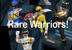 power rangers legacy wars rare warriors
