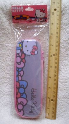 Hello Kitty Tin Pencil Case Zippered     New in package  | Collectibles, Animation Art & Characters, Japanese, Anime | eBay!