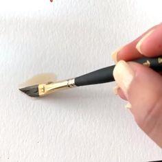 Watercolor Beginner, Watercolor Paintings For Beginners, Watercolor Art Lessons, Watercolor Techniques, Watercolor Art Paintings, Watercolours, Watercolor Flowers Tutorial, Watercolour Tutorials, Create