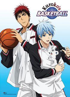 Kuroko's Basketball Premium Wall Scroll - Kuroko And Kagami ...