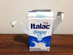 Passo 4 - Como fazer casinha de passarinho com caixa de leite