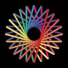 Simon C Page / Sacred Geometry <3 Geometric Nature, Geometric Drawing, Geometric Shapes, Geometric Designs, Reiki Angelico, Illustrations, Illustration Art, 3d Drawings, Kawaii Drawings