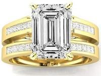 Emerald Cut Diamond Engagement Ring: A Sophisticated Choice. Mens Emerald Rings, Emerald Cut Diamond Engagement Ring, Emerald Cut Diamonds, Engagement Ring Cuts, Princess Cut Diamonds, Mens Pinky Ring, Rings For Men, Channel, Bridal