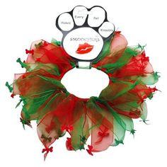 Christmas Bones Dog Party Collar – Bark Label