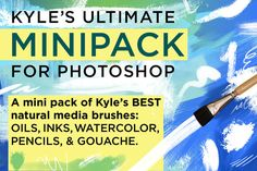 DOWNLOAD FREE this week  Kyle's Photoshop Brush Mini Pack - Brushes - 1