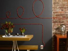 15 Creative Ideas How to Hide the Cables in Your Home