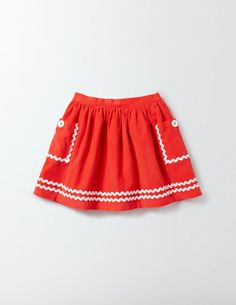 Buy the Twirly Nautical Skirt now for full skirt is tailor-made for twirling. Little Girl Skirts, Baby Girl Skirts, Baby Skirt, Skirts For Kids, Girls Skirt Patterns, Kind Mode, Skirt Fashion, Kids Outfits, Baby Girl Fashion